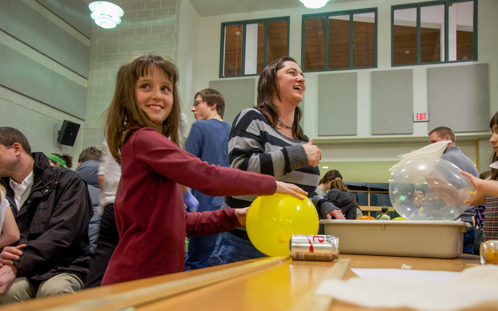 The Naked Egg Drop and Other Fun at Family Science Night